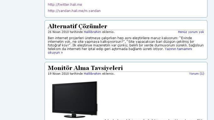 Halilibrahimozdemir.com.tr eski teması